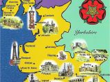 Map Of England Blackpool Lancashire Map Sent to Me by Gordon Of northern Ireland