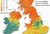 Map Of England Divided Into Regions How Do You Pronounce Scone Map Of the Uk and Ireland