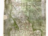 Map Of England Roads Oldest Road Map Of Britain is Oddly Phallic History Map