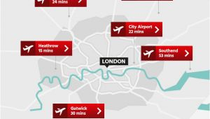 Map Of England Showing Airports London Airports Map Airport Visitlondon Com