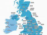 Map Of England Showing Surrey Uk University Map