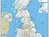Map Of England Showing towns United Kingdom Uk Road Wall Map Clearly Shows Motorways Major Roads Cities and towns Paper Laminated 119 X 84 Centimetres A0