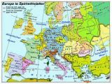 Map Of Europe 1400 atlas Of European History Wikimedia Commons