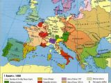 Map Of Europe 1400 Europe In the Middle Ages Maps Map Historical Maps Old