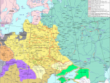 Map Of Europe 17th Century Eastern Europe In Second Half Of the 17th Century Maps and