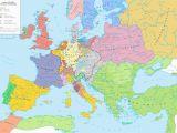 Map Of Europe 17th Century Europe Ad 1648 the Peace Of Westphalia European Maps