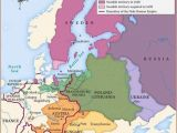 Map Of Europe 17th Century Map Of Central northern and Eastern Europe In Second Half Of