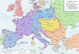 Map Of Europe 1812 A Map Of Europe In 1812 at the Height Of the Napoleonic