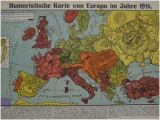 Map Of Europe 1917 the Octopuses Of War Ww1 Propaganda Maps In Pictures