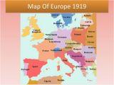 Map Of Europe 1919 1939 Europe 1919 Map