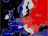 Map Of Europe 1945 Iron Curtain Europe S Iron Curtain Division