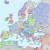 Map Of Europe 1990 atlas Of European History Wikimedia Commons