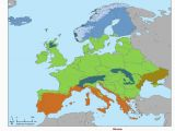 Map Of Europe 2012 Biomes Of Europe 2415 X 3174 Europe Biomes Europe