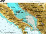 Map Of Europe Adriatic Sea C Map Nt Wide Adriatic Sea south C Card