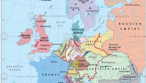 Map Of Europe after Congress Of Vienna Europe In 1815 after the Congress Of Vienna