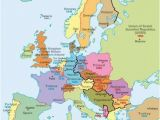 Map Of Europe after Treaty Of Versailles A Map Of Europe During the Cold War You Can See the Dark