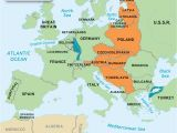 Map Of Europe after World War 1 Europe after World War 1 Map Business Rating org