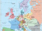 Map Of Europe after World War 2 Europe In 1815 after the Congress Of Vienna
