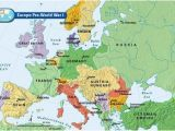 Map Of Europe after Ww1 Europe Pre World War I Bloodline Of Kings World War I