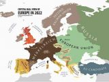 Map Of Europe Albania Europe According to the Future Land Of Maps Map Funny
