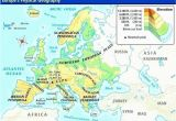 Map Of Europe Alps Physical Map Europe Climatejourney org