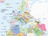 Map Of Europe and Africa with Countries Map Of Europe Middle East and north Africa Map Of Africa