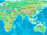 Map Of Europe and asia together World History Maps by Thomas Lessman