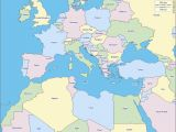 Map Of Europe and Mediterranean Sea 36 Intelligible Blank Map Of Europe and Mediterranean