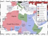 Map Of Europe and north Africa During World War 2 north African Campaign Map Of north Africa and southern