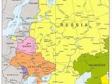 Map Of Europe and Russia together Map Of Russian States Google Search Maps In 2019