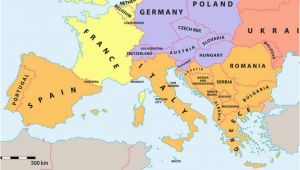 Map Of Europe and Spain which Countries Make Up southern Europe Worldatlas Com