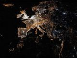 Map Of Europe at Night 8 Best Maps Images In 2014 Maps World Maps Knowledge