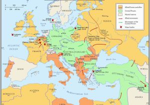 Map Of Europe before Wwi 10 Explicit Map Europe 1918 after Ww1