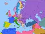 Map Of Europe During Cold War Political Map Of Europe the Mediterranean On 19 Apr 1946