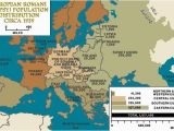 Map Of Europe During Holocaust Roma Population In Europe 1939 Maps Germany Poland