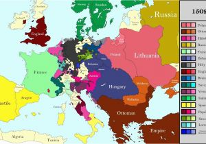 Map Of Europe During Renaissance Europe World Maps