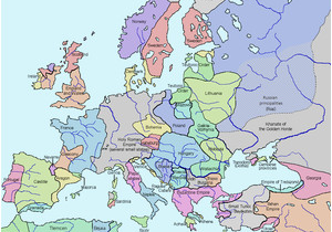 Map Of Europe During Renaissance Late Middle Ages Wikipedia