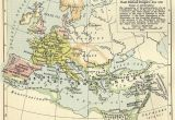 Map Of Europe During Roman Empire Europe and the East Roman Empire 533 600 1911 by William