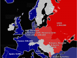 Map Of Europe During the Cold War History and Members Of the Warsaw Pact