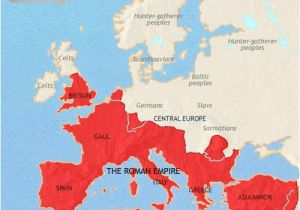 Map Of Europe During the Renaissance Map Of Europe at 200ad Timemaps