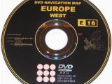 Map Of Europe for Sale toyota Lexus Map Dvd E16 20122013 V2 West Europe for Sale In