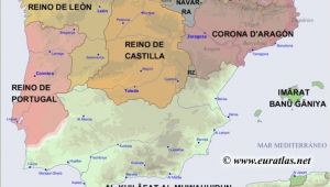 Map Of Europe Iberian Peninsula Map Of the Iberian Peninsula In the Year 1200 Mystery Of