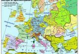 Map Of Europe In 1870 atlas Of European History Wikimedia Commons