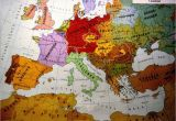 Map Of Europe In 1914 and 1919 European Ethnic Map 1914 Map Europe Maps European Map