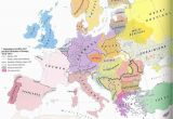 Map Of Europe In 1914 and 1919 History 464 Europe since 1914 Unlv