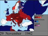 Map Of Europe In 1944 Under German Occupation Watch World War Ii Rage Across Europe In A 7 Minute Time
