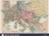Map Of Europe In 19th Century Historical Europe Maps Stock Photos Historical Europe Maps