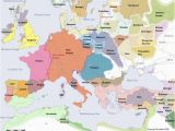 Map Of Europe In Middle Ages Historical Map Of Europe In the Year 1200 Ad Historical