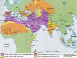Map Of Europe In the 1500s islamic World In 1500 Maps Historical Maps islam Ap