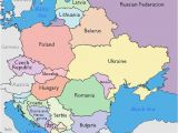 Map Of Europe Including Russia Maps Of Eastern European Countries